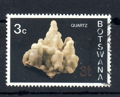 Botswana 1976 3t on 3c Misplaced Surcharge variety SG369A WS14096