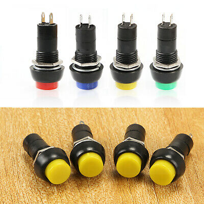 12mm Momentary or Latching Push Button Round Toggle Switch ON/OFF for Car Auto