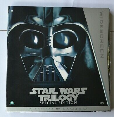 Star Wars Trilogy Special Edition - Widescreen PAL Laser Discs No. 1268 of 5000