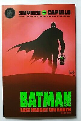 Batman Last Knight On Earth #1 - Sold Out Cover A - New Nm Unread - Dc Comics