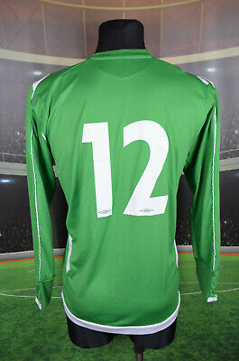 Ireland Eire Umbro #12 Football Shirt (L) Jersey Top Trikot Camiseta Green Mens