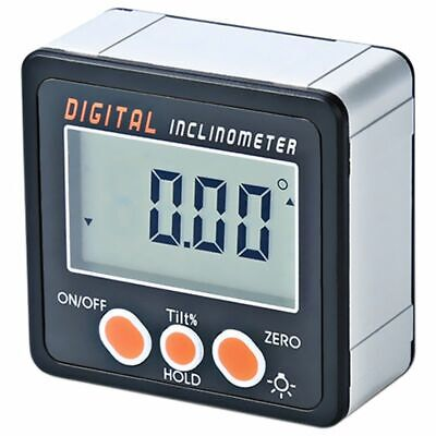 Digital Inclinometer 0-360 Angle e ruler Electronic Protractor Aluminum Alloy 1Y