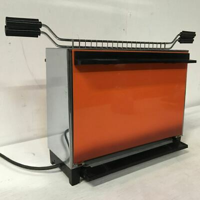 Vintage Sunbeam Vertical Grill - Orange - High Quality - Beautiful Condition