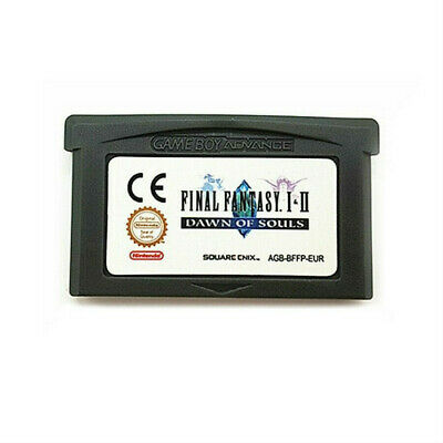 Final Fantasy I II 1+ 2 Cartridge Card for Game Boy Advance GBA SP NDS NDSL