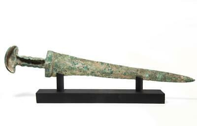 Iron-age weaponry bronze short-sword c 1000 BC Luristan Pre Greek.
