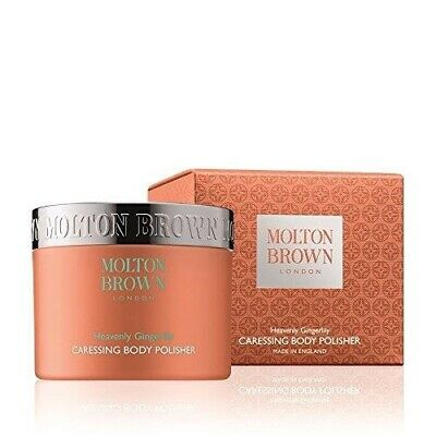 MOLTON BROWN Heavenly Gingerlily 275g Caressing Body Polisher New &Sealed RRP£35