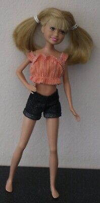Mattel Stacie Barbie's Teenage Sister Skipper Size Dressed Doll Blond Hair 2010