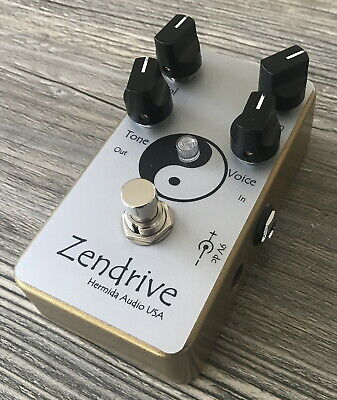 > LovePedal Hermida Zendrive 2 Gold Limited Edition Dumble Pedal Mint <
