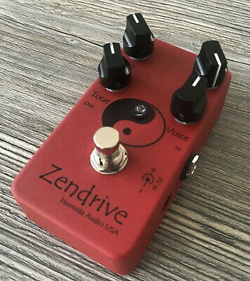 > LovePedal Hermida Zendrive Red Red Red Limited Edition Dumble Pedal Mint <