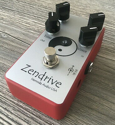 > LovePedal Hermida Red Dot Zendrive Limited Edition Dumble Pedal Mint <