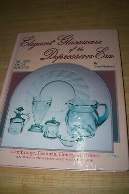 elegant glassware of depression era collectors guide