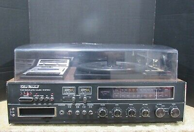 Silver Marshall SKCR-880 Complete Music System Record/8-Track/Cassette Player