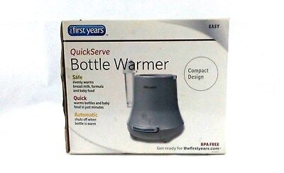 First Years Warmer Bottle Quick Serve Baby Bottle and Food BPA Free