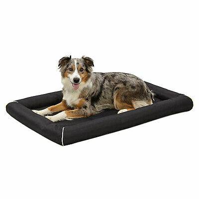 MidWest Homes for Pets 40542-BK QuietTime Maxx 42 Inch Large Dog Bed, Black