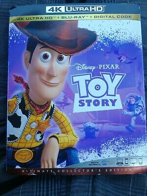 Toy Story w/Slipcover (4K Ultra HD, Blu-ray, ) DOES NOT HAVE DIGITAL COPY