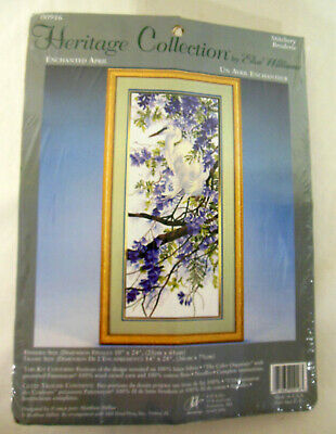 Elsa Williams Heritage Collection Enchanted April Crewel Embroidery unopened