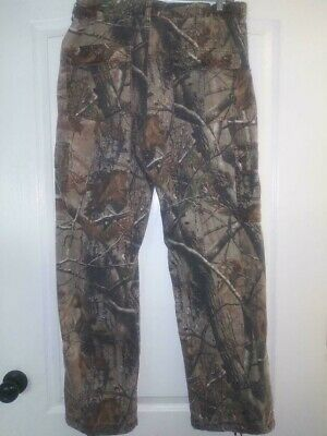 RUSSELL OUTDOORS Mens Camouflage Hunting Pants Cargo M 32-34 Inseam 30