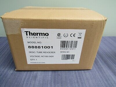 THERMO SCIENTIFIC 88881001 TUBE REVOLVER 4 PADDLES 10 to 40 RPM NEW sealed box