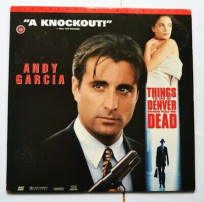 Things To Do In Denver When You're Dead - NTSC Widescreen Laser Disc