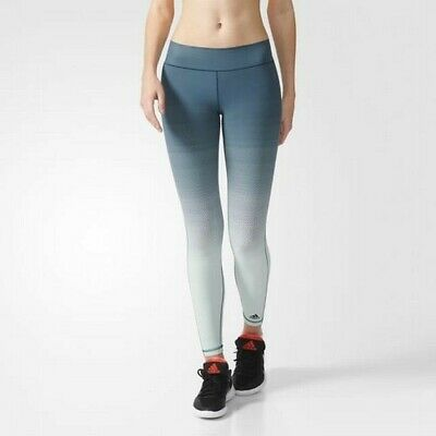 Adidas MIRACLE SCULPTT Leggings S94461, Green - UK Size M - BNWT