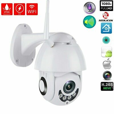 1080P Wireless WIFI IP Camera HD Network Cam CCTV In/Outdoor Security IR Night