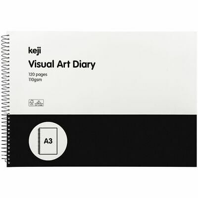 Keji A3 Visual Art Diary FSC Certified