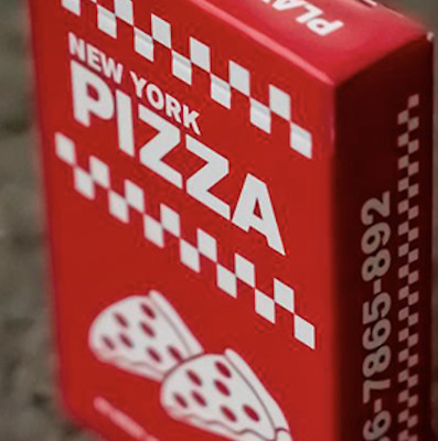 New York Pizza Playing Cards Decks by Gemini - LIMITED
