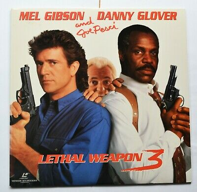 Lethal Weapon 3 (1992) US Widescreen Laser Disc