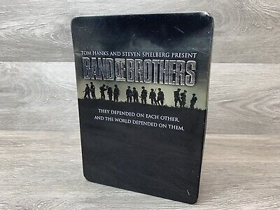 Band of Brothers DVD 2002 6-Disc Bonus Set Collector Tin Great Condition.