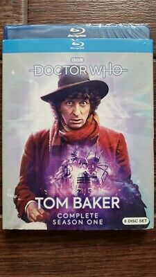 New Dr Who Tom Baker Complete Season One Bluray 6 Discs Sealed Free Shipping