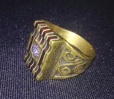 Rare Ancient Solid Ring Roman Real Euro Stunning Artifact Rare Antique  Type