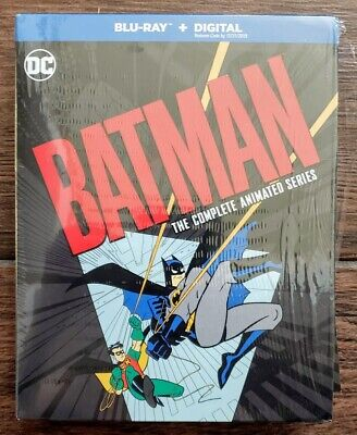 New Batman Complete Animated Series Bluray 12-Disc Set Justice Dc No Digital