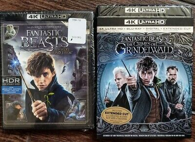 Fantastic Beasts Where To Find Crimes Grindelwald 4K + Bluray ✔☆Mint☆✔No Digital