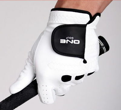 [One Golf] Premium 1ea Cabretta Men's Golf Glove Genuine Leather_NU a