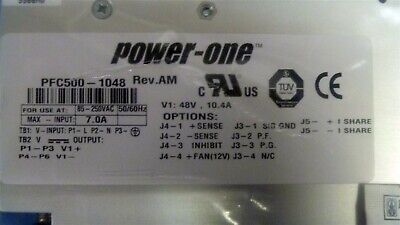 BEL / Power-One 48V - 10A Power Supply - New in box, PFC500-1048