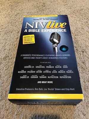 NIV LIVE: A Bible Experience---CDs with DVD - $14 29   PicClick