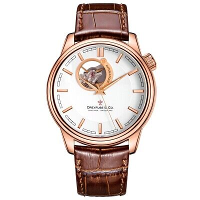 Dreyfuss and Co Mens 1925 Watch RRP £825 Brand New and Boxed