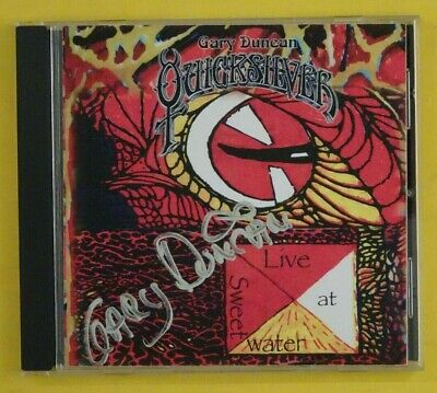 Quicksilver Messenger Service.live At Sweetwater.2006 Global.signed Gary Duncan