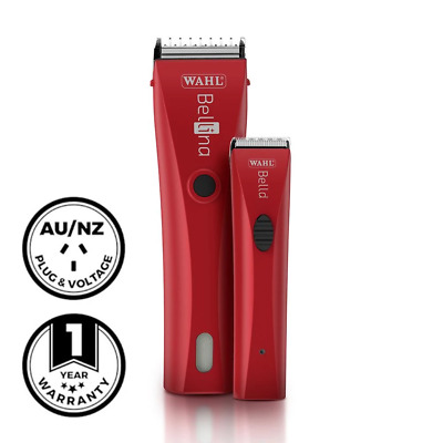 Wahl Professional Bellina & Bella Combo (Red) Clipper Trimmer All In One Blade