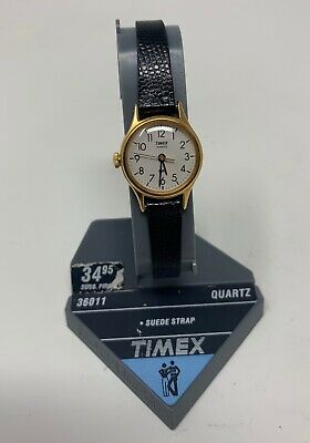 New Vintage Timex T 67 Gold tone Women's Water Resistance Watch. New Battery