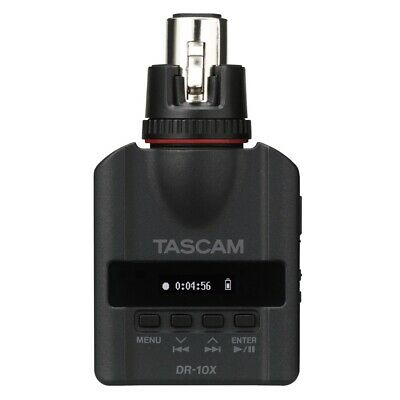 Tascam DR-10X Plug-On Micro Linear PCM Recorder for XLR Connection + Picks