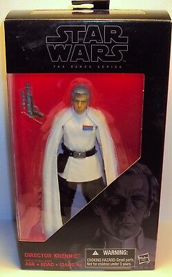"""Star Wars The Black Series #27 Rogue One Director Krennic 6"""" Action Figure"""