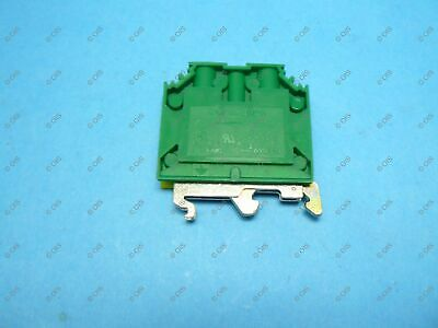 Connectwell CGT10U Ground/Earth DIN Rail Terminal Block #22-6 AWG New