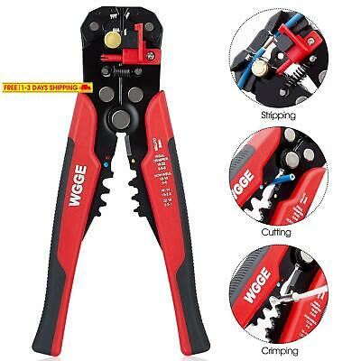 Wgge Wg-014 Self-Adjusting Insulation Wire Stripper. For Stripping Wire From Awg