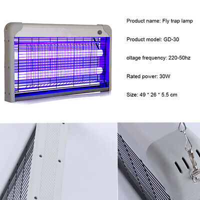 Electric Trap LED Light Mosquito Fly Pest Bug Zapper Catcher Insect Killer