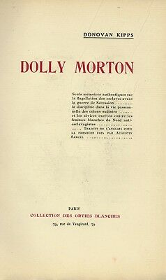 1925 Orties Blanches Curiosa Fessée Spanking Flagellation Dolly Morton Malteste