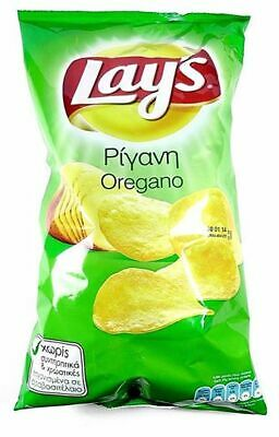 Lays Oregano Potato Crisps Snacks Full Case 50 packs x 45g