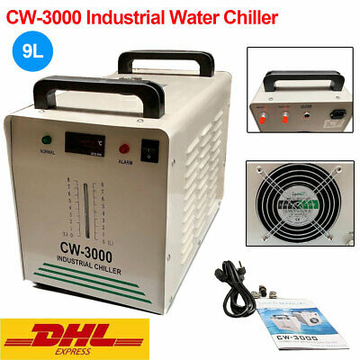 CW-3000 Industrial Water Chiller for CO2 Glass Laser tube Laser Cutter Engraver