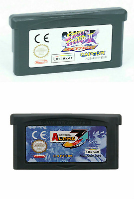 Super Street Fighter 2 Alpha 3 Cartridge Card for Game Boy Advance GBA NDS NDSL