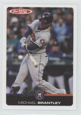 2019 Topps Total #51 Michael Brantley Houston Astros Baseball Card